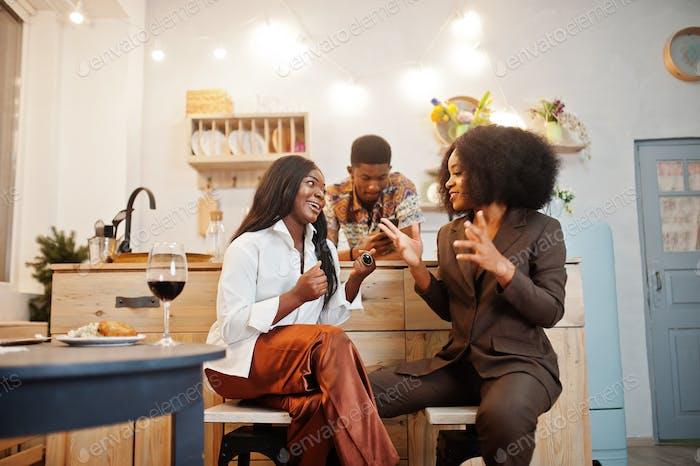 Africans indoor