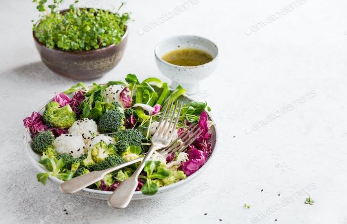 Gesunder hausgemachter Salat