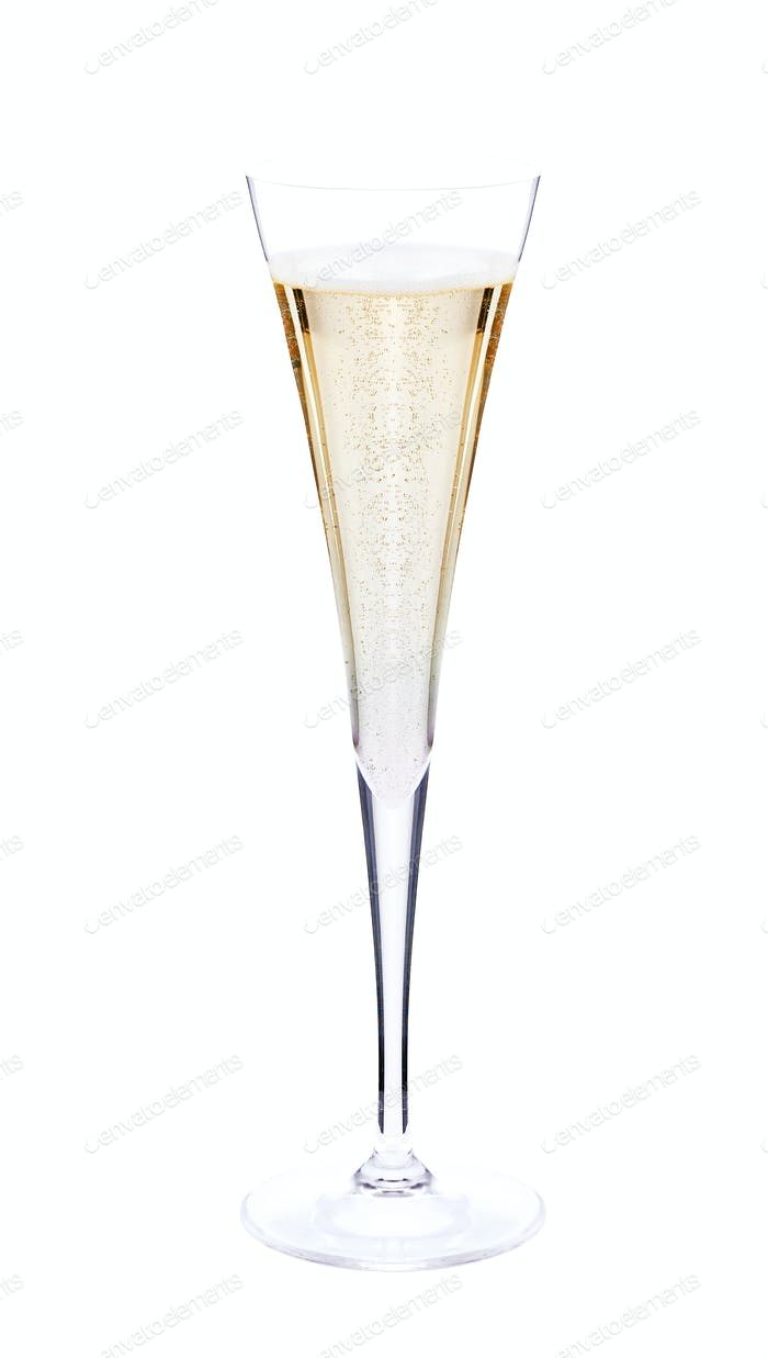 nice champagne glass