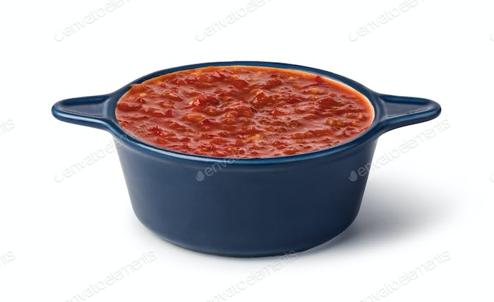bowl of Salsa sauce