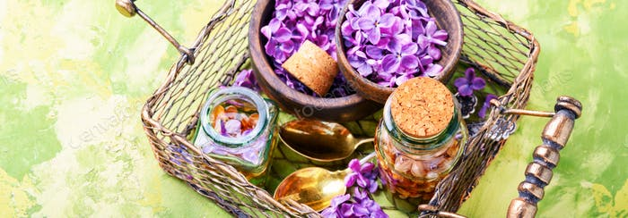 Thumbnail for Bottle of lilac essential oil