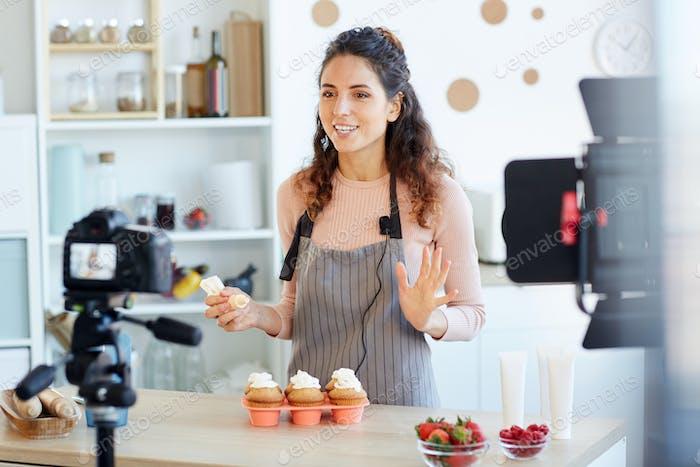 Woman Shooting Cupcakes Tutorial