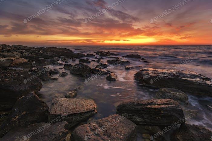 Meer Sonnenaufgang
