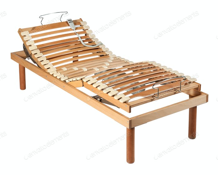 Orthopaedic bed with net and electric controls