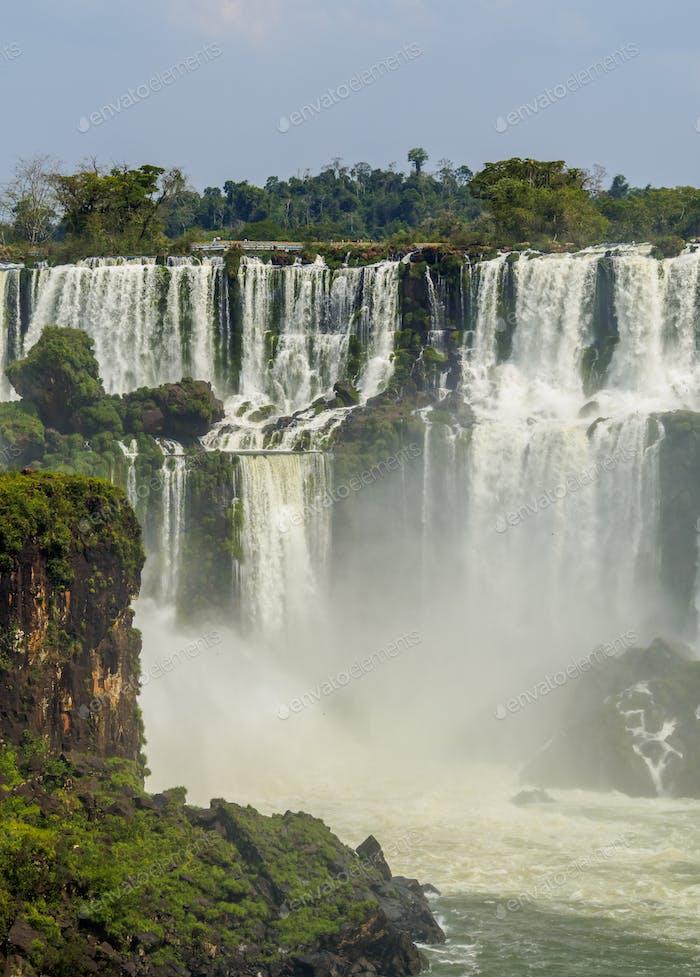 Iguazú-Wasserfall. Argentinien