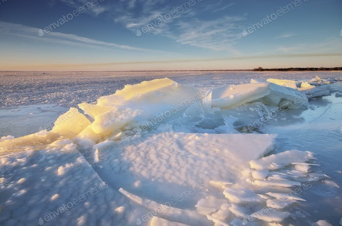 Winterlandschaft Natur.