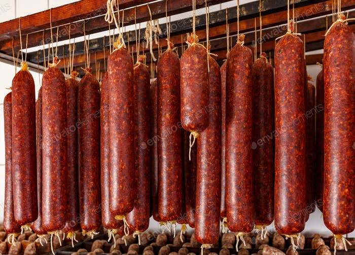 Sausage products facory