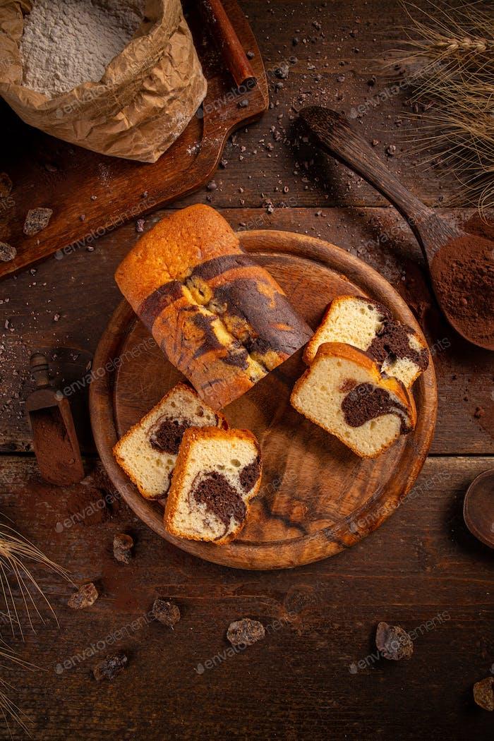 Tasty loaf cake