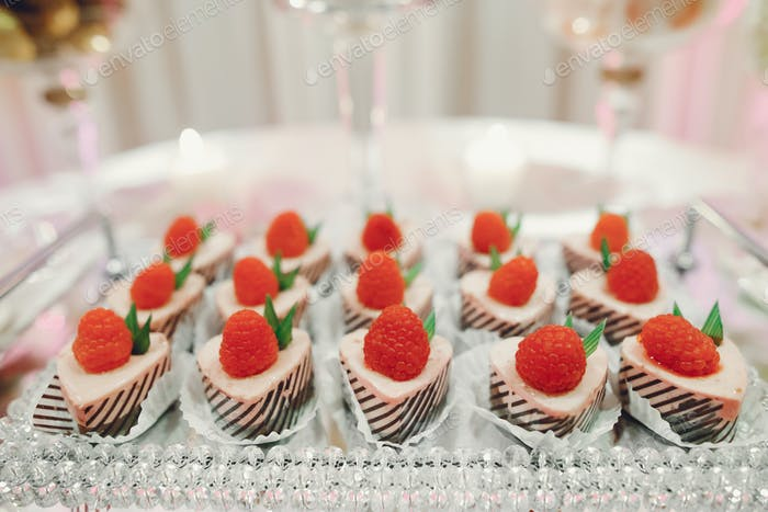 Cute wedding buffet