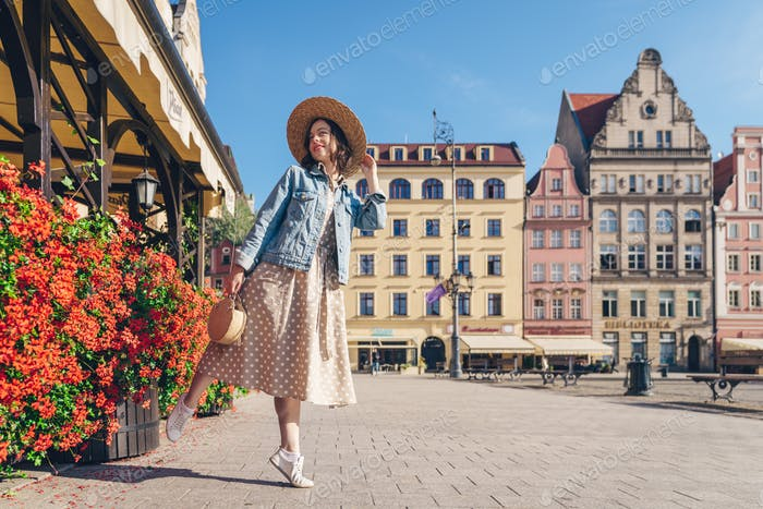 Attractive girl in Poland