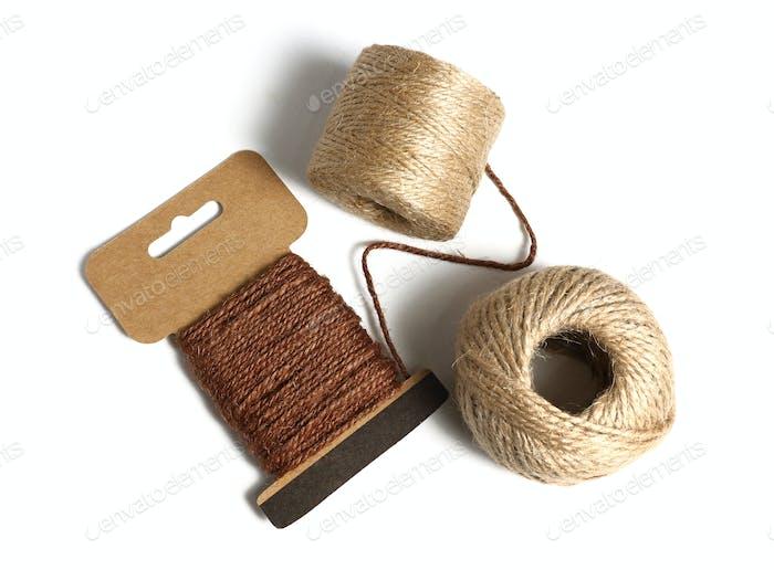 Rolls of Hemp Rope