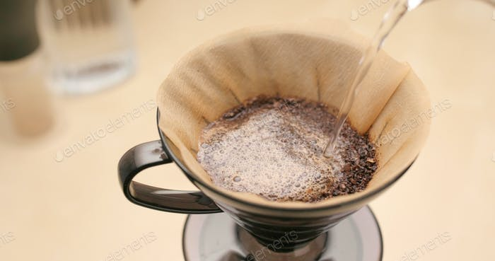 Making Drip coffee at home