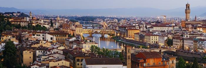 Horizonte de Florencia histórica