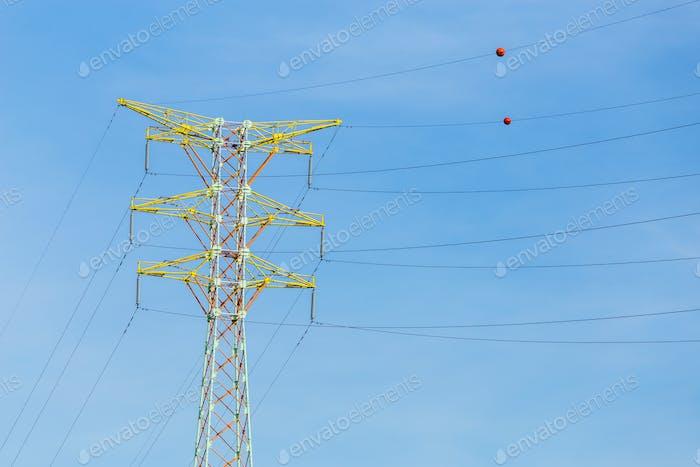Stromverteilung Towerkabel