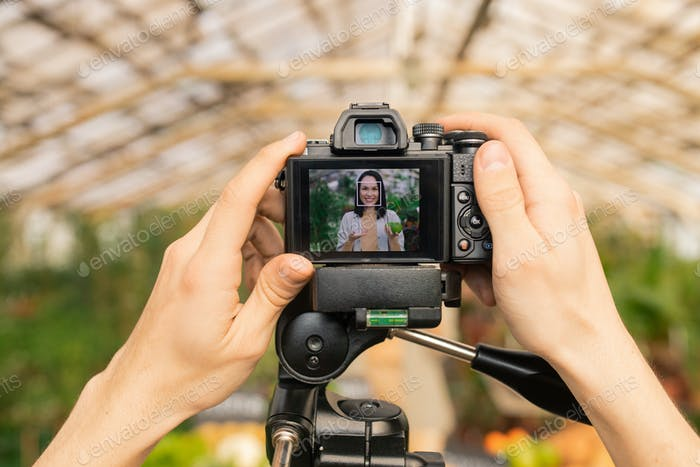 Adjusting camera for shooting video review