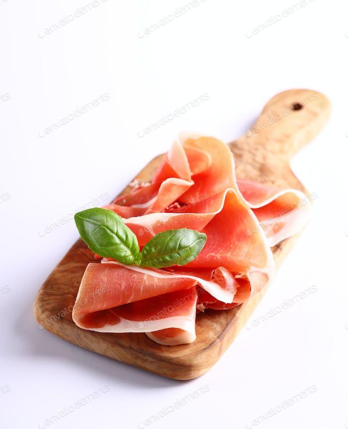 Italienischer Parmaschinken