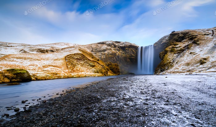 Skogafoss, waterfall, Skogar, South Region, Iceland