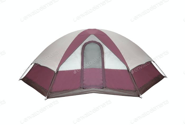 tourist tent isolated