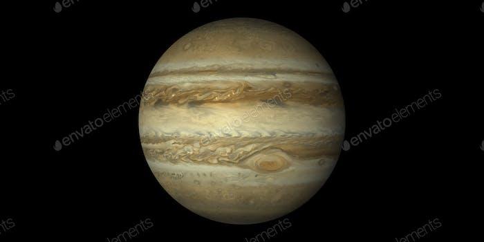 saturn planet black background