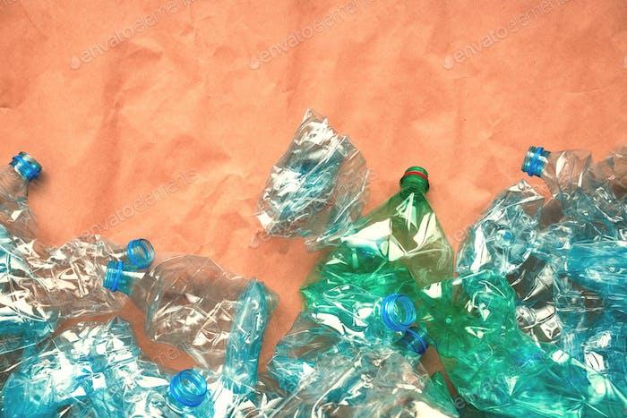 Plastikflaschen für das Recycling