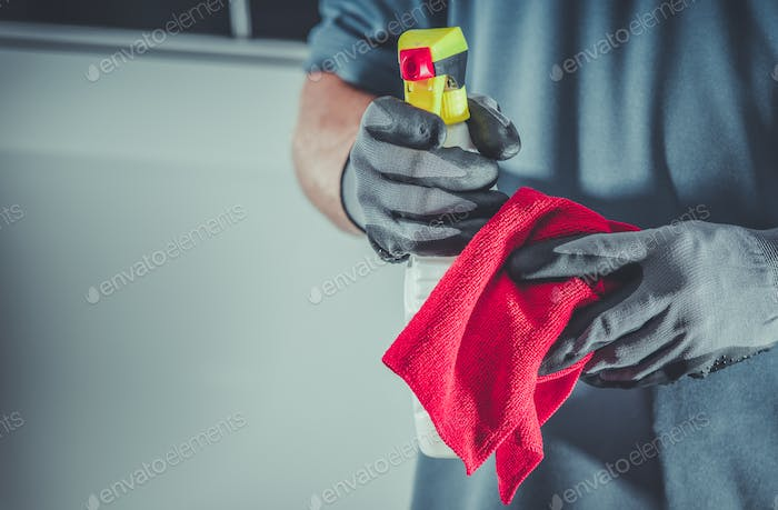 Cleaning Cloth and Detergent