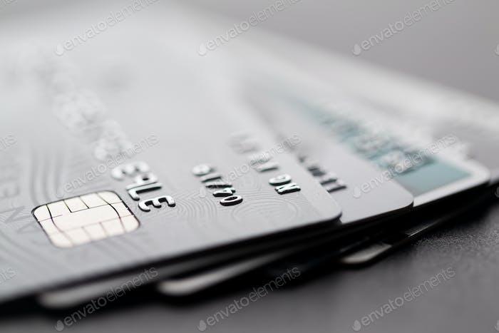 Gruppe der Kreditkarte