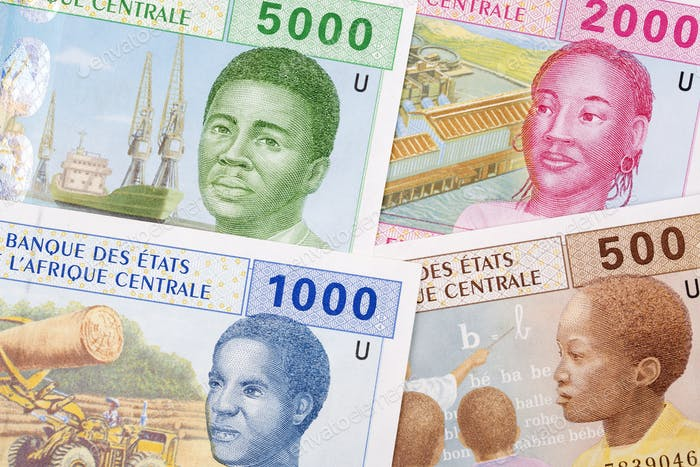 Central African money, a background