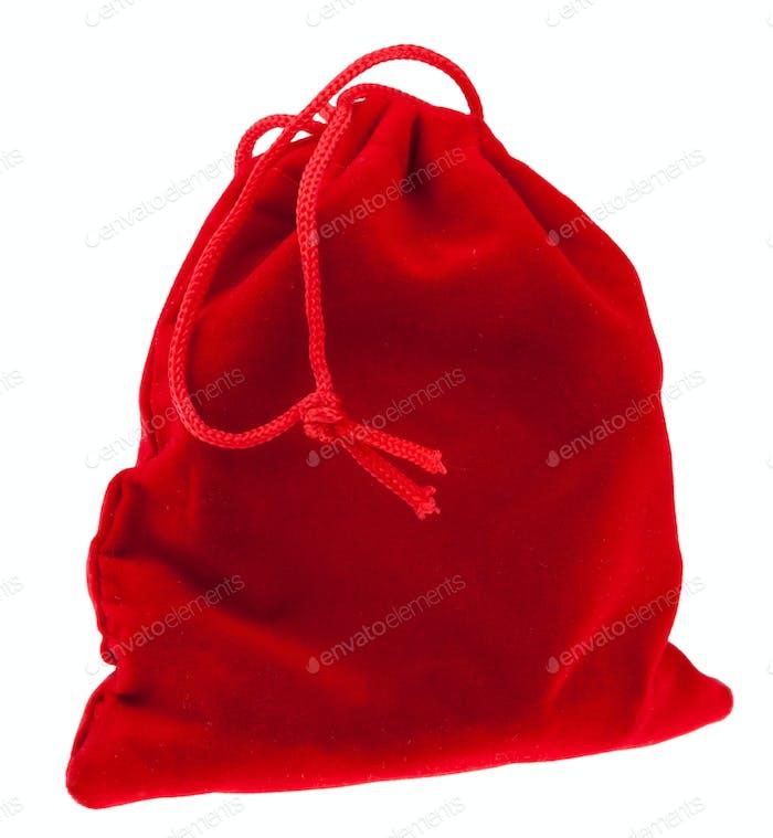 bolsa de regalo roja