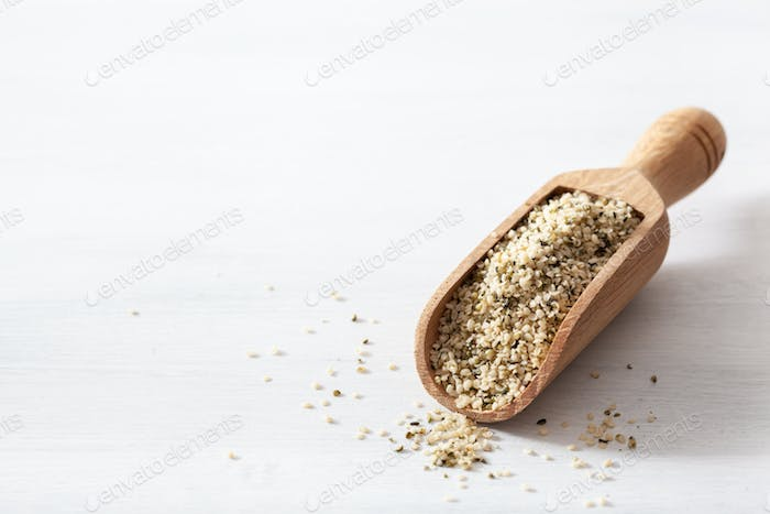 hulled hemp seeds, healthy superfood supplement