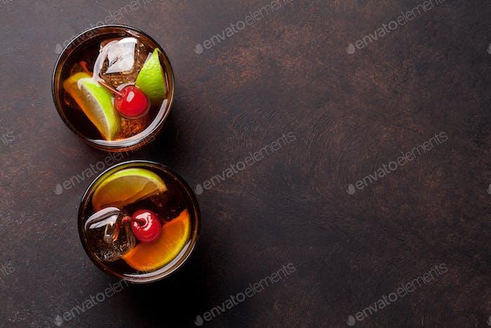 Cuba libre Cocktailgläser