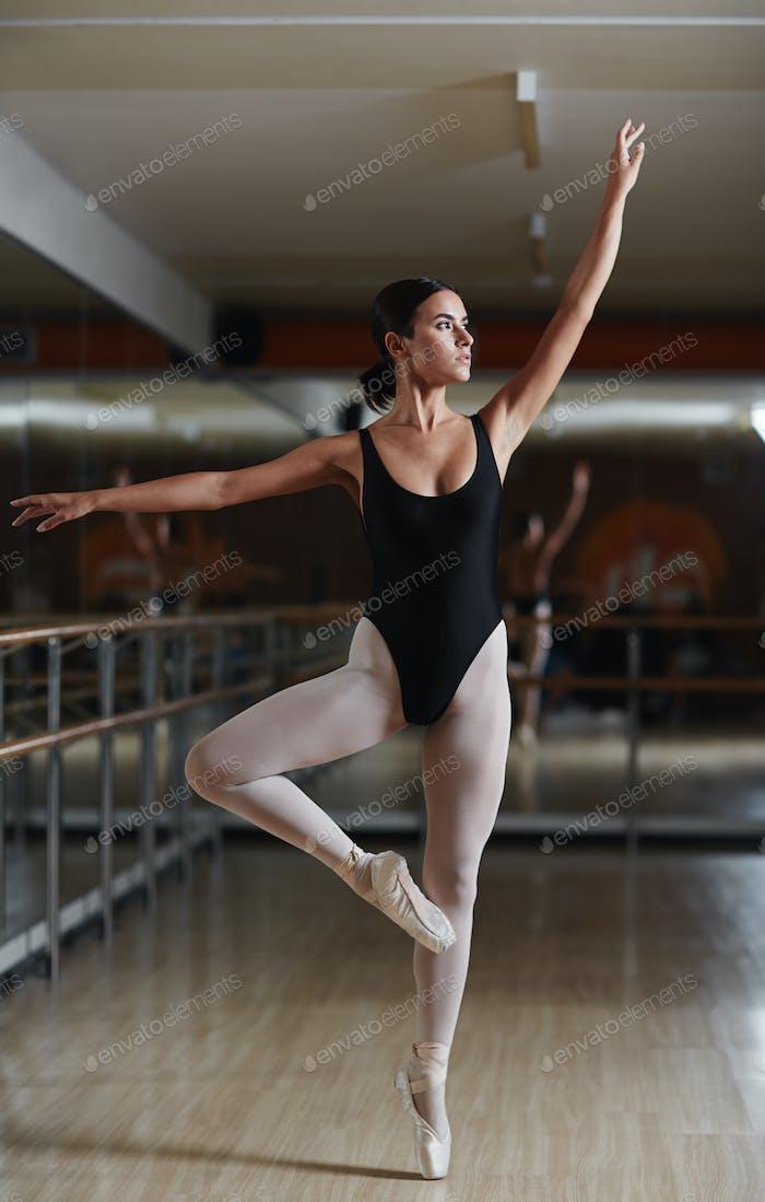 Exercising ballet