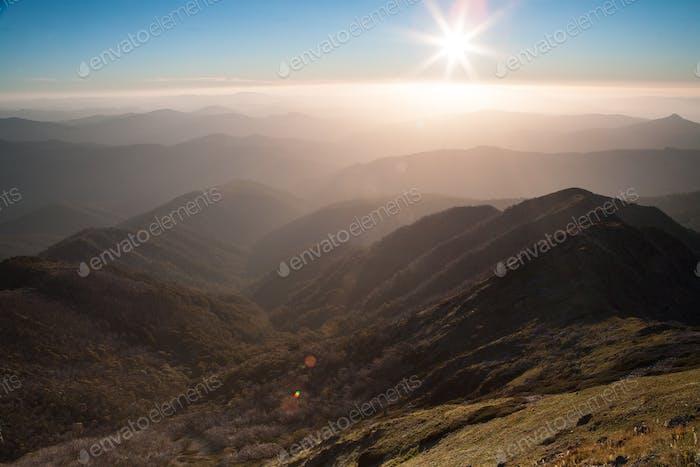 Mt Buller Sunset