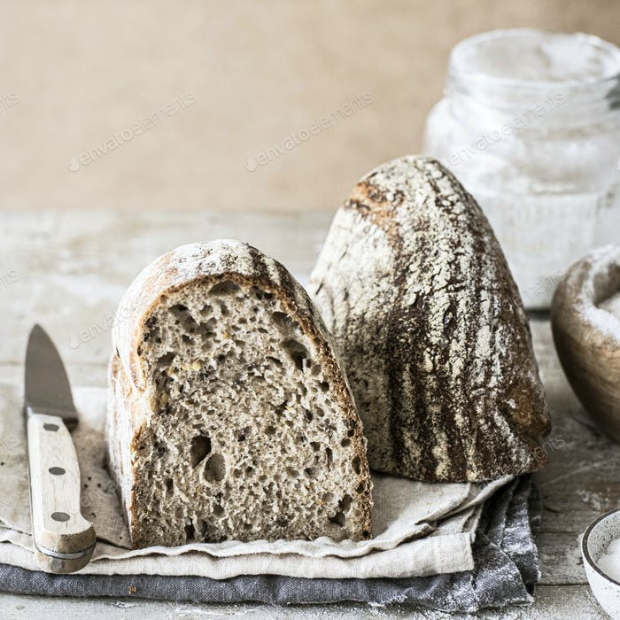 Fresh homemade bread recipe idea