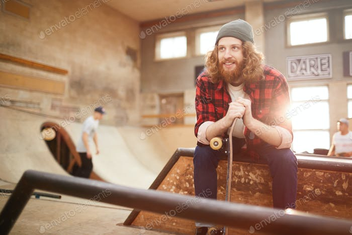Modern Bearded Skater