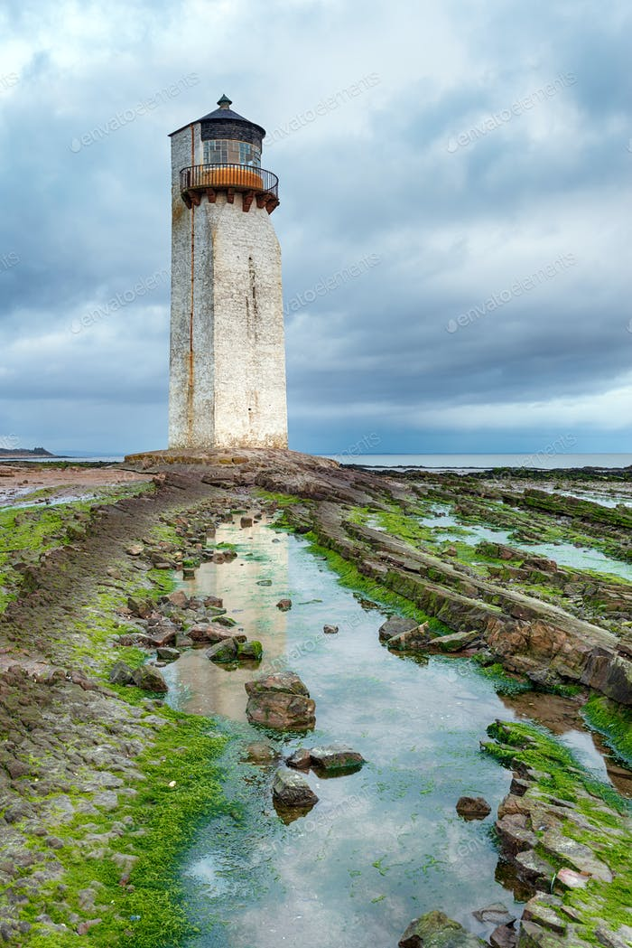 Sotherness Lighthouse in Galloway