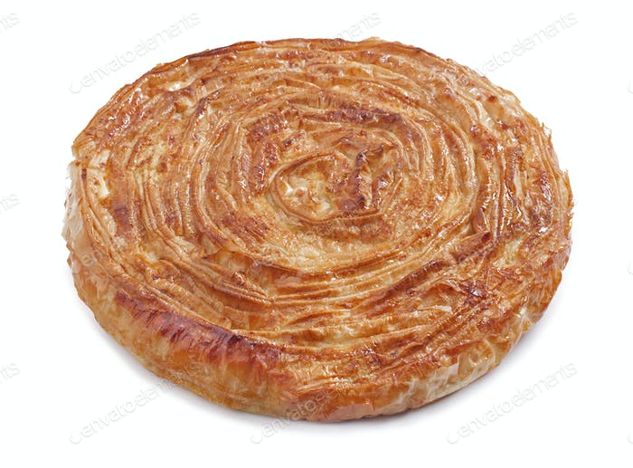 Burek pie with cheese