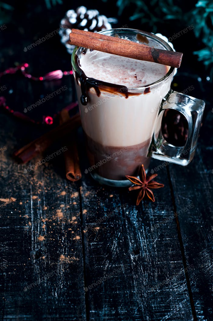 caramel coffee latte