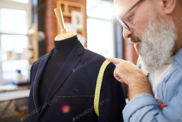 Sewing jacket