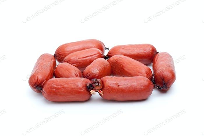 Some bavarian sausages