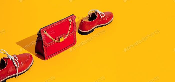 Stilvolle Vintage-Tasche