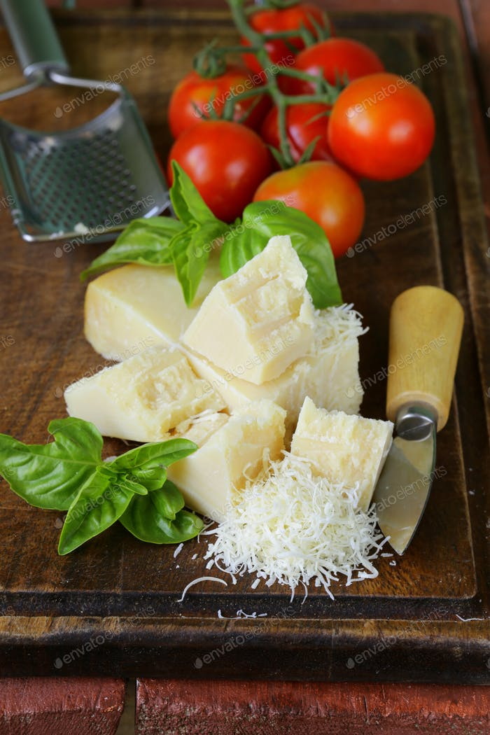 Fresh Tasty Hard Parmesan Cheese