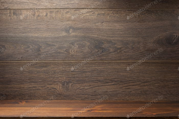wooden brick and brown background
