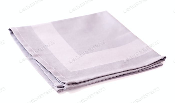 Gray cotton napkin