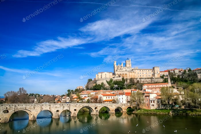 Beziers Castle in France