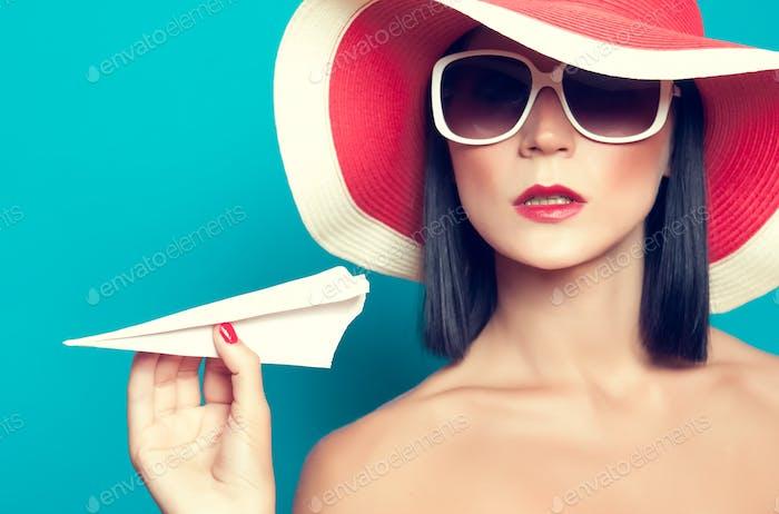чувственный девушка лето