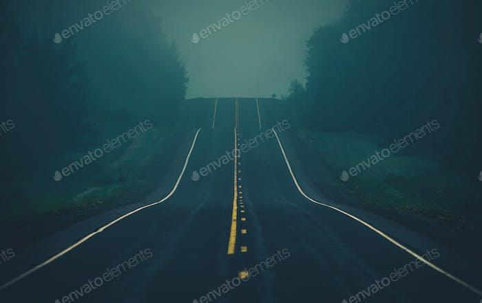 Fog on the Highway