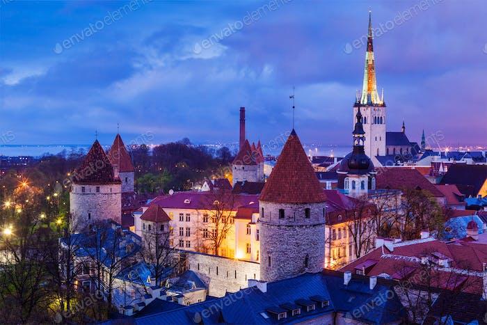 Tallinn Mittelalterliche Altstadt, Estland