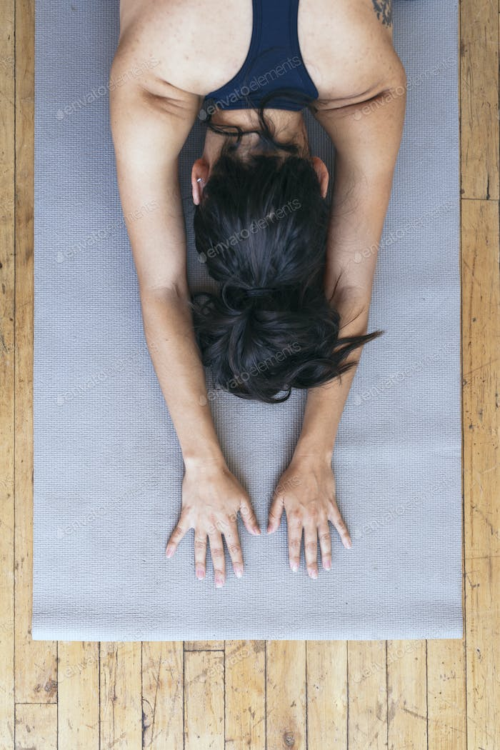 Yoga as stress relief