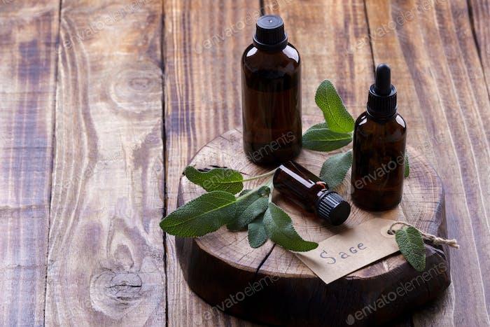 Sage essencial oil