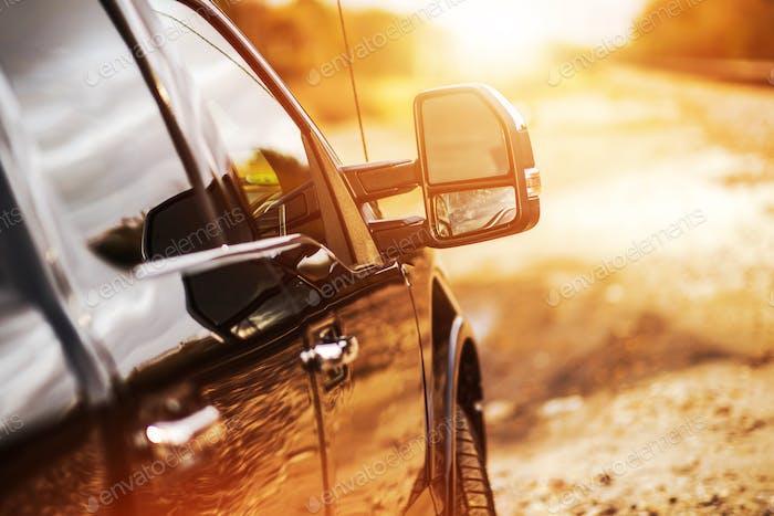 Pickup LKW Offroad Fahren